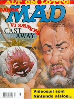 Go to MAD Magazine #137 • Denmark • 3rd Edition - Egmont