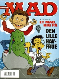 Go to MAD Magazine #139 • Denmark • 3rd Edition - Egmont