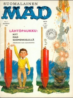 Go to MAD Magazine #1 • Finland • 1st Edition - Suomalainen