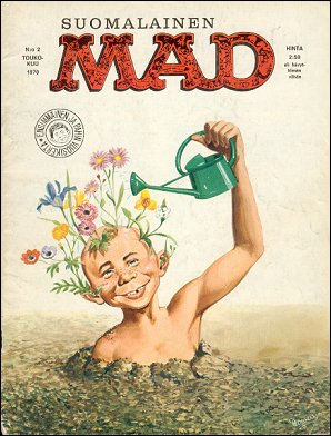 MAD Magazine #2 • Finland • 1st Edition - Suomalainen