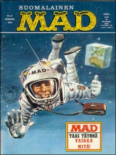 Go to MAD Magazine #3 • Finland • 1st Edition - Suomalainen