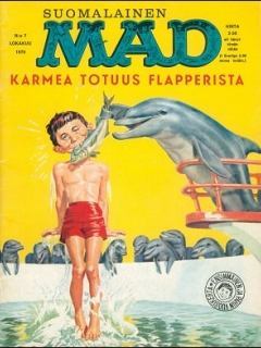 Go to MAD Magazine #7 • Finland • 1st Edition - Suomalainen