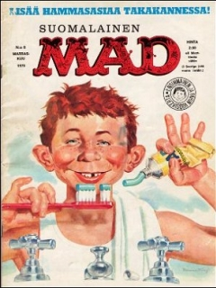 Go to MAD Magazine #8 • Finland • 1st Edition - Suomalainen