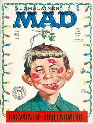 MAD Magazine #9 • Finland • 1st Edition - Suomalainen