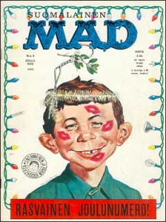 Go to MAD Magazine #9 • Finland • 1st Edition - Suomalainen