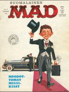 Go to MAD Magazine #11 • Finland • 1st Edition - Suomalainen