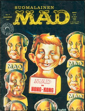 MAD Magazine #12 • Finland • 1st Edition - Suomalainen
