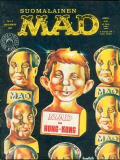 Go to MAD Magazine #12 • Finland • 1st Edition - Suomalainen