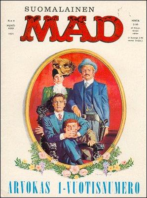 MAD Magazine #13 • Finland • 1st Edition - Suomalainen