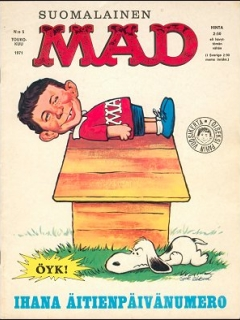 Go to MAD Magazine #14 • Finland • 1st Edition - Suomalainen