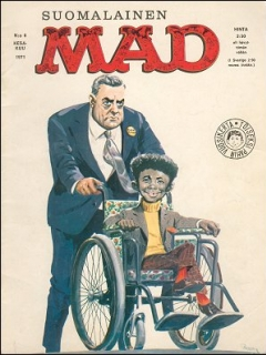 Go to MAD Magazine #15 • Finland • 1st Edition - Suomalainen
