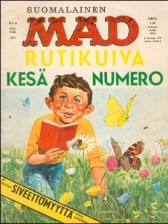 Go to MAD Magazine #17 • Finland • 1st Edition - Suomalainen