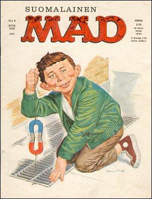 MAD Magazine #18 • Finland • 1st Edition - Suomalainen