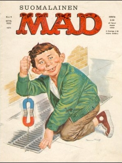 Go to MAD Magazine #18 • Finland • 1st Edition - Suomalainen