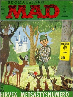 Go to MAD Magazine #19 • Finland • 1st Edition - Suomalainen