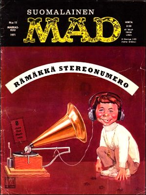 MAD Magazine #20 • Finland • 1st Edition - Suomalainen
