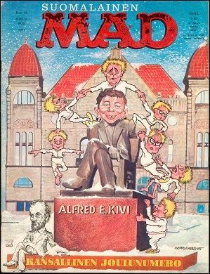 MAD Magazine #21 • Finland • 1st Edition - Suomalainen