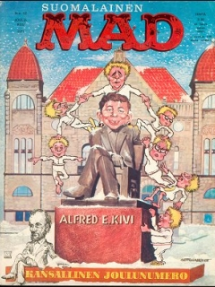 Go to MAD Magazine #21 • Finland • 1st Edition - Suomalainen