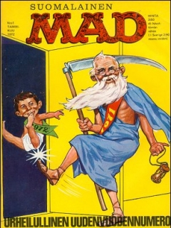 Go to MAD Magazine #22 • Finland • 1st Edition - Suomalainen