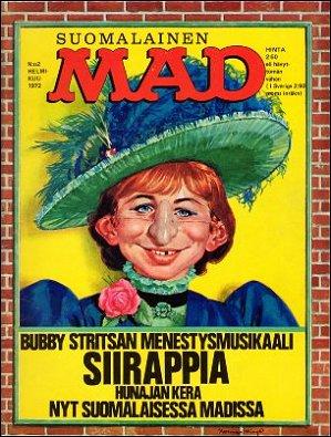 MAD Magazine #23 • Finland • 1st Edition - Suomalainen