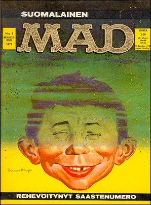 MAD Magazine #3 • Finland • 1st Edition - Suomalainen