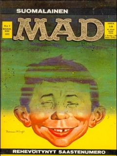 Go to MAD Magazine #24 • Finland • 1st Edition - Suomalainen