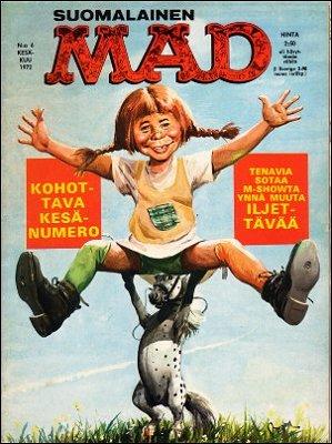 MAD Magazine #6 • Finland • 1st Edition - Suomalainen