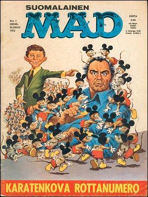 MAD Magazine #7 • Finland • 1st Edition - Suomalainen
