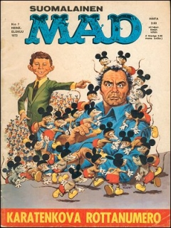 Go to MAD Magazine #28 • Finland • 1st Edition - Suomalainen