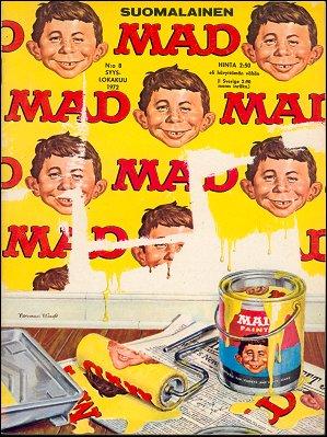 MAD Magazine #8 • Finland • 1st Edition - Suomalainen