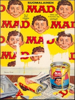 Go to MAD Magazine #29 • Finland • 1st Edition - Suomalainen