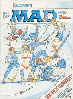 MAD Magazine #1 1981 • Finland • 2nd Edition - Semic