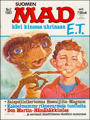 MAD Magazine #3 • Finland • 2nd Edition - Semic