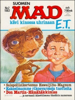 Go to MAD Magazine #3 • Finland • 2nd Edition - Semic