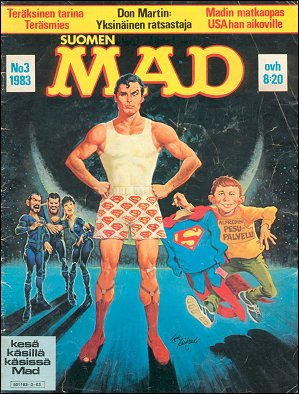 MAD Magazine #3 1982 • Finland • 2nd Edition - Semic