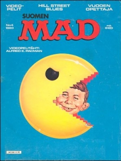 Go to MAD Magazine #5 • Finland • 2nd Edition - Semic