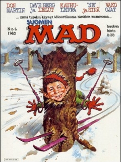 MAD Magazine #7 • Finland • 2nd Edition - Semic