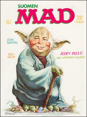 MAD Magazine #1 1983 • Finland • 2nd Edition - Semic