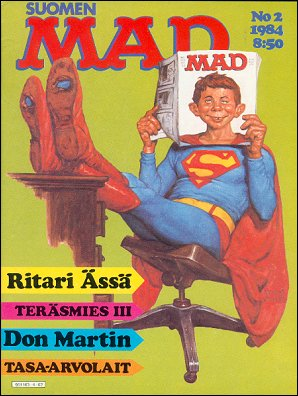 MAD Magazine #2 • Finland • 2nd Edition - Semic