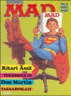 MAD Magazine #2 1983 • Finland • 2nd Edition - Semic
