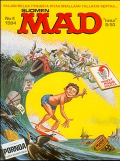 Go to MAD Magazine #11 • Finland • 2nd Edition - Semic