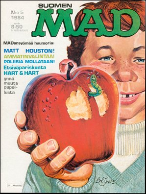 MAD Magazine #5 • Finland • 2nd Edition - Semic