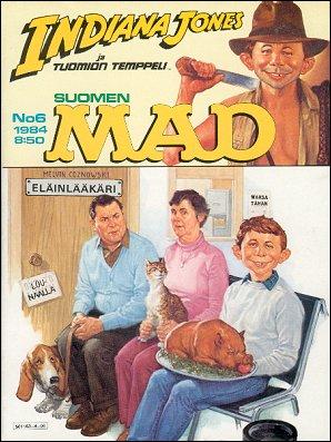 MAD Magazine #13 • Finland • 2nd Edition - Semic