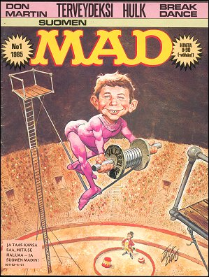 MAD Magazine #1 • Finland • 2nd Edition - Semic