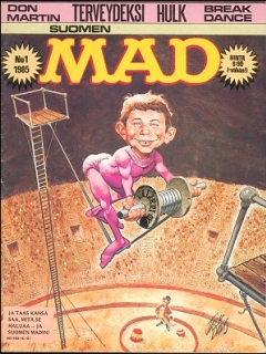 Go to MAD Magazine #14 • Finland • 2nd Edition - Semic