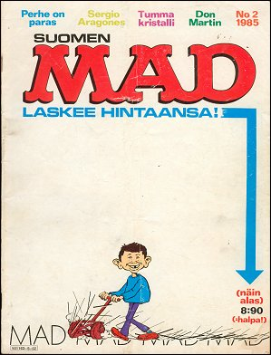 MAD Magazine #15 • Finland • 2nd Edition - Semic