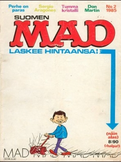 Go to MAD Magazine #15 • Finland • 2nd Edition - Semic