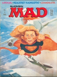 Go to MAD Magazine #16 • Finland • 2nd Edition - Semic