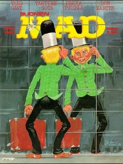 Go to MAD Magazine #17 • Finland • 2nd Edition - Semic