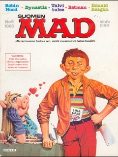 Go to MAD Magazine #18 • Finland • 2nd Edition - Semic